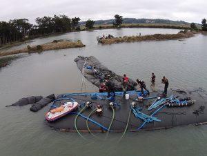Humboldt Bay Levee Breach Plug