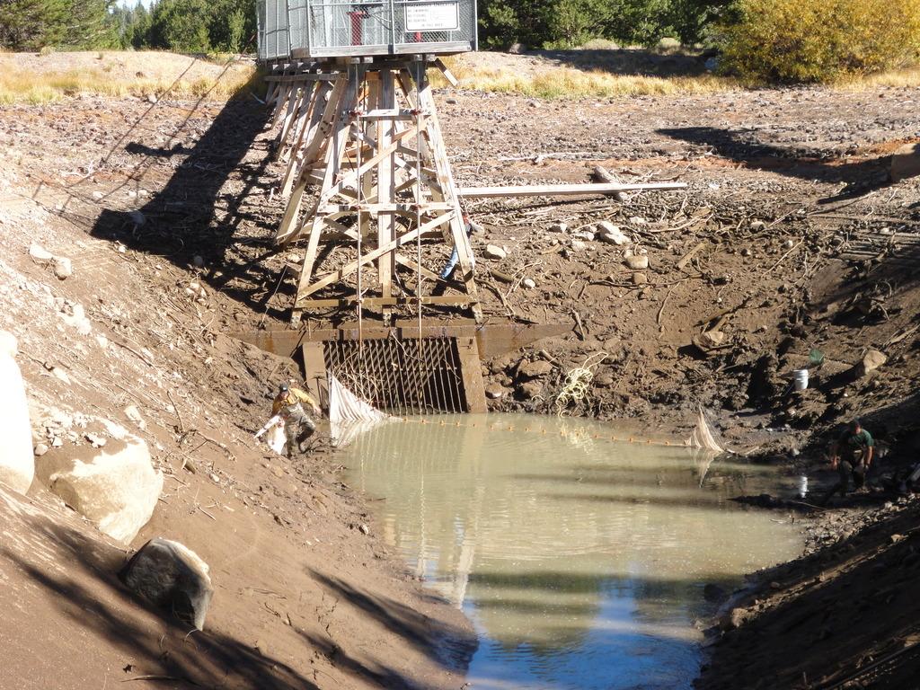 Lake Independence Intake Canal Isolation, 2014