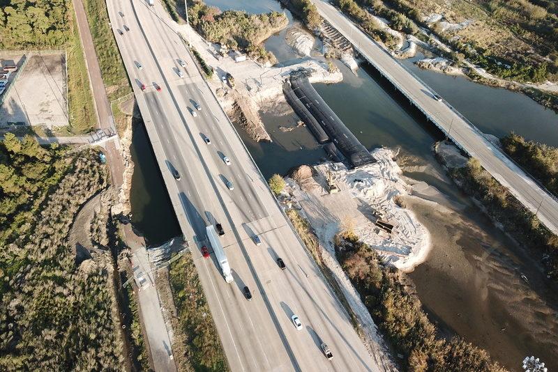 Bridge Isolation, Baytown, Texas 2017