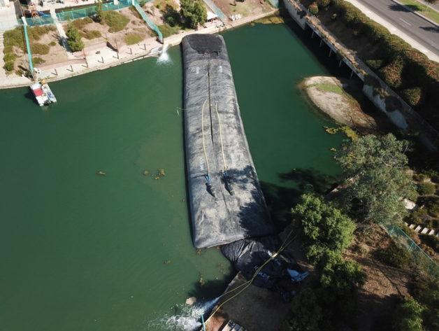 Rancho Del Lago, Moreno Valley, Partial Pond Isolation for Sediment Removal 2019
